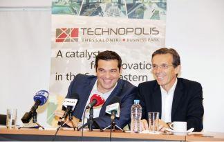 Επίσκεψη του κ. Αλέξη Τσίπρα στην Τεχνόπολη Θεσσαλονίκης